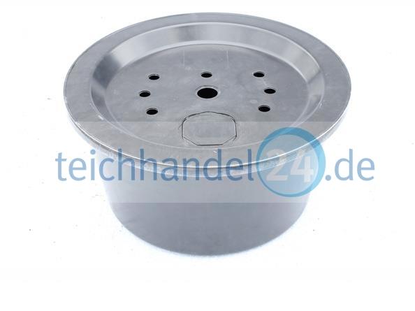 Gfk becken rund 66 cm h he 33 cm volumen 90 liter mit for Deckel rund 60 cm