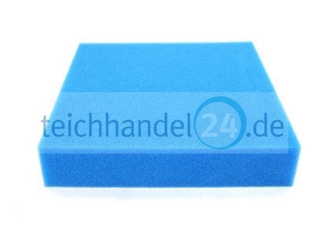 filter schaumstoff matte 50 x 50 x 10 cm ppi 30 fein teichhande 19 99. Black Bedroom Furniture Sets. Home Design Ideas